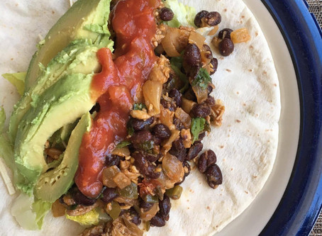 Chopped Chicken Soft Shell Tacos