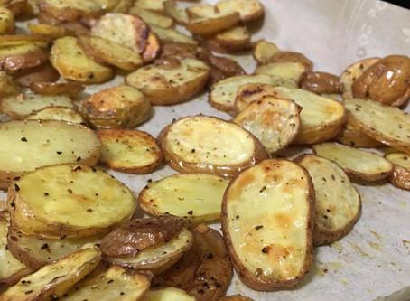 Oven Baked Potato Crisps