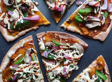 Summer BBQ Veggie Pizza