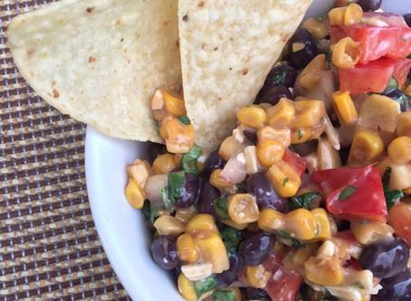 Mexican Corn & Black Bean Salsa