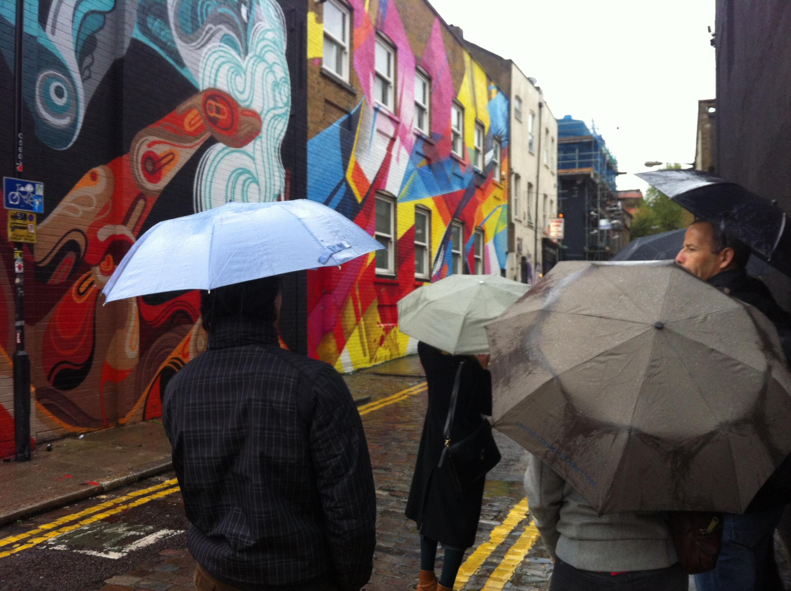 מטיילים גם בגשם :)