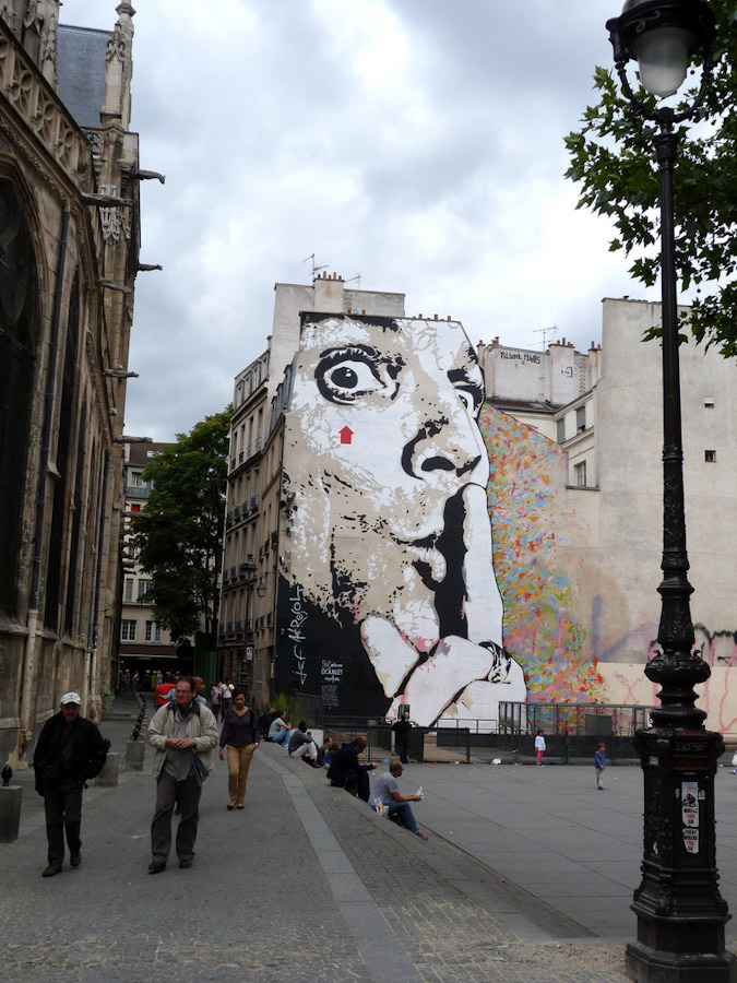 JEF AEROSOL בפריז