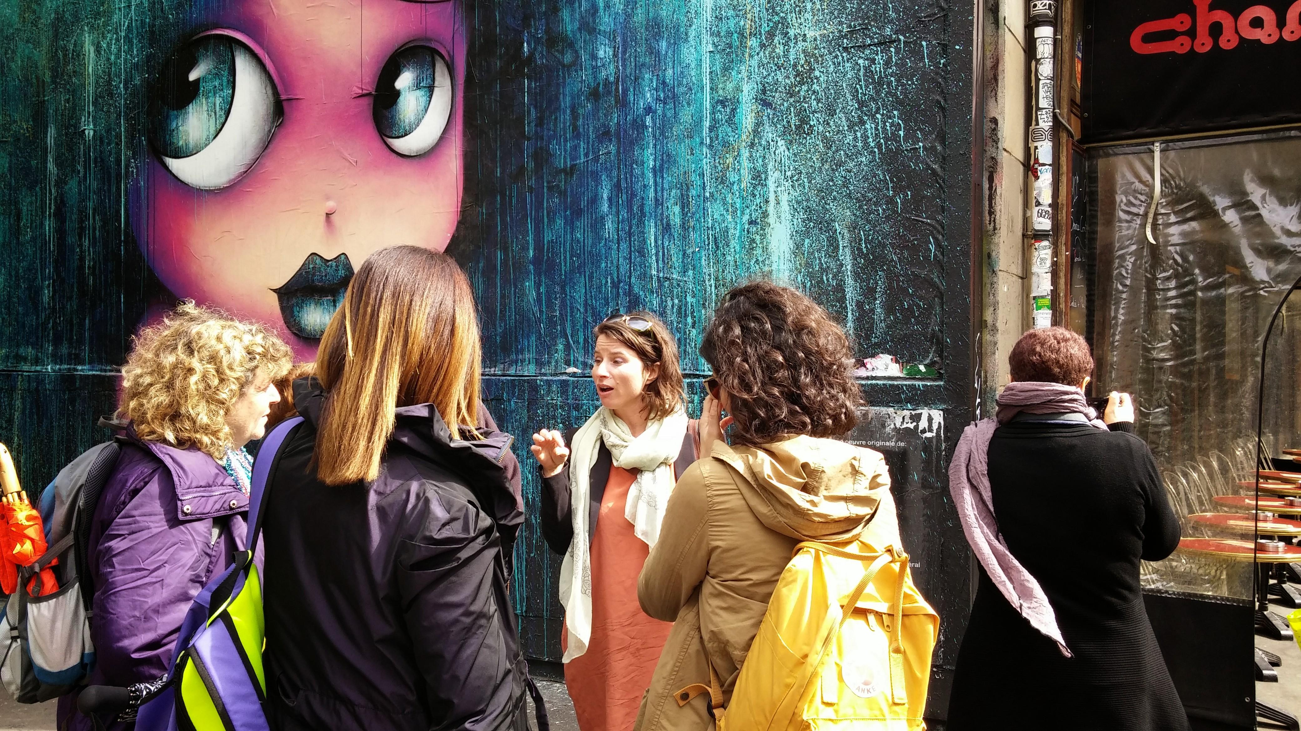 סיור אמנות רחוב בפריז