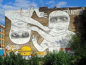 אמנות רחוב וגרפיטי בקרויצברג