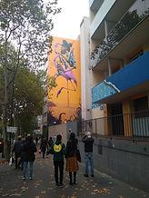 סיור גרפיטי וציורי קיר ברובע 13
