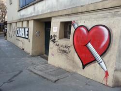 graff coeur - גרפיטי בפריז