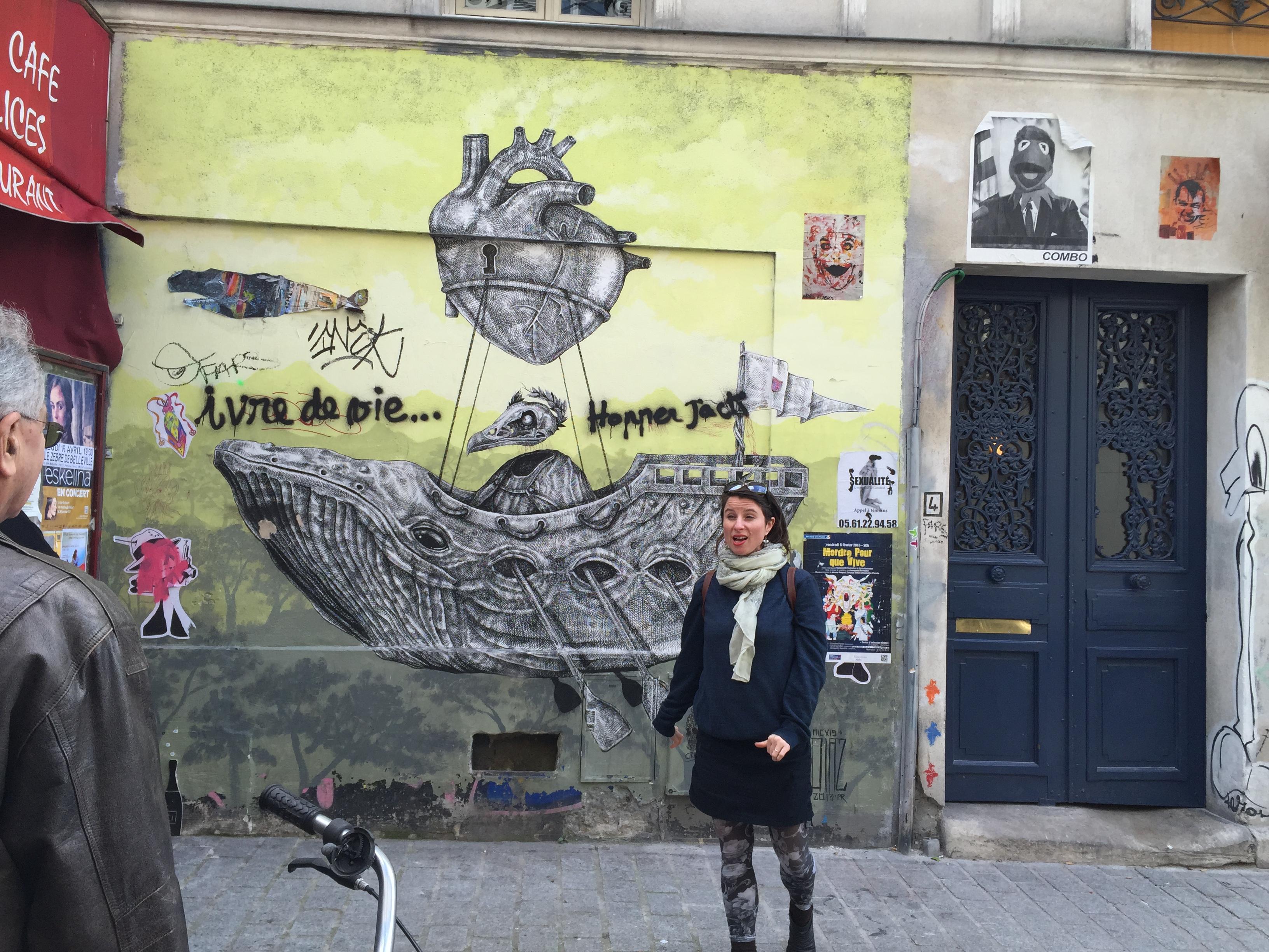 אמנות רחוב בפריז
