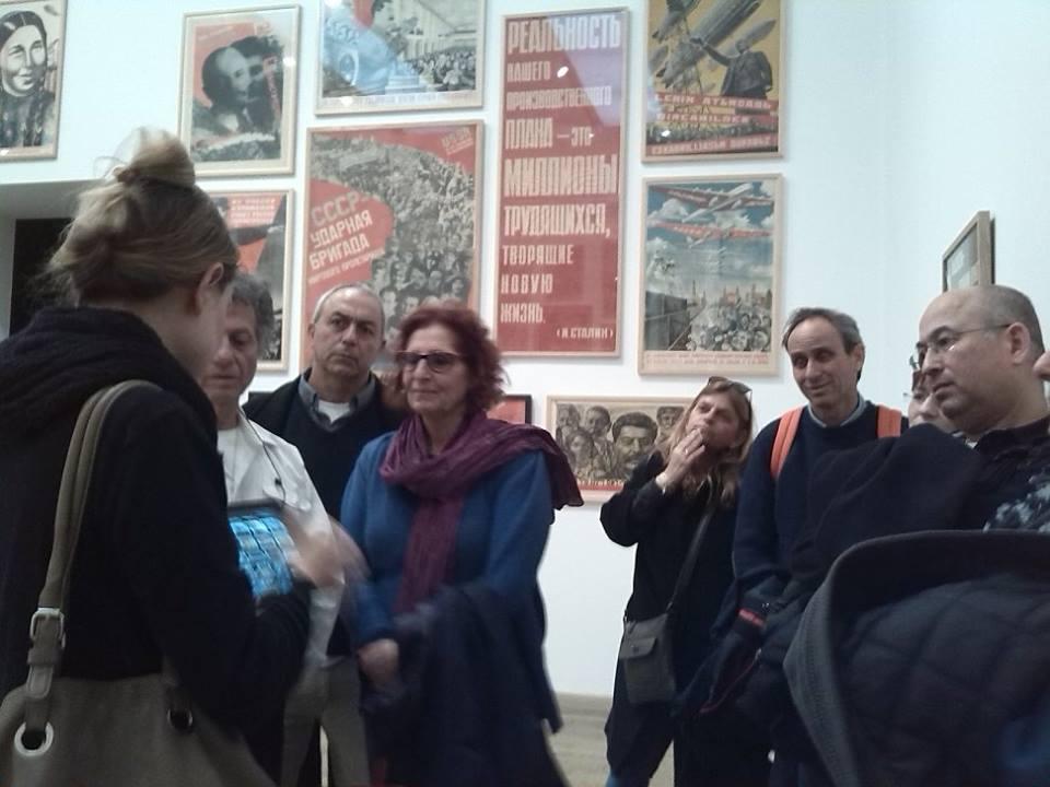 מוזיאון הטייט - כרזות קומוניסטיות