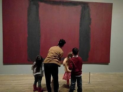 לונדון לילדים - סיור מיוחד בטייט מודרן