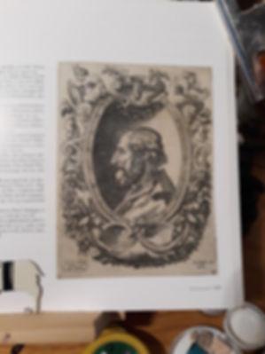 ARIOSTO Medallion portrait by Enea Vico.