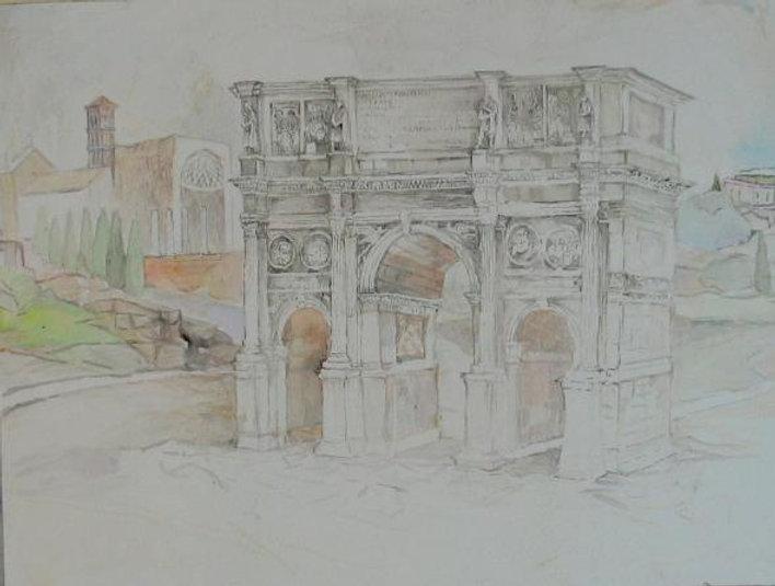 El Arco de Constantino acuarela.jpg