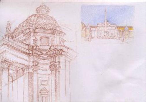 Corner Santa Maria Miracoli and Porta Fl