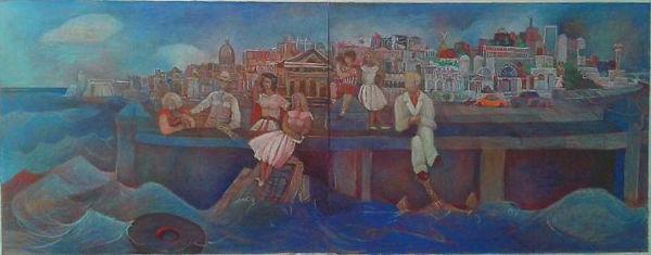 El Malecon Azul PASTEL.jpg