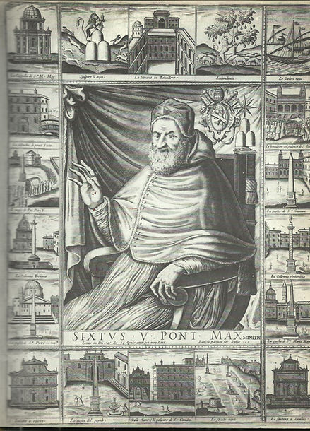 Pope Sixtus V and his works print.jpg