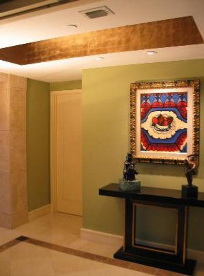 Goldleaf ceiling commission sideview Oce