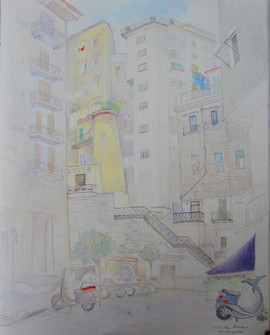 Naples: Neighborhood of Santa Lucia
