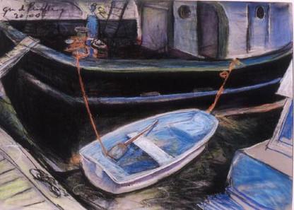 Little Blue Dinghy -  Miami River