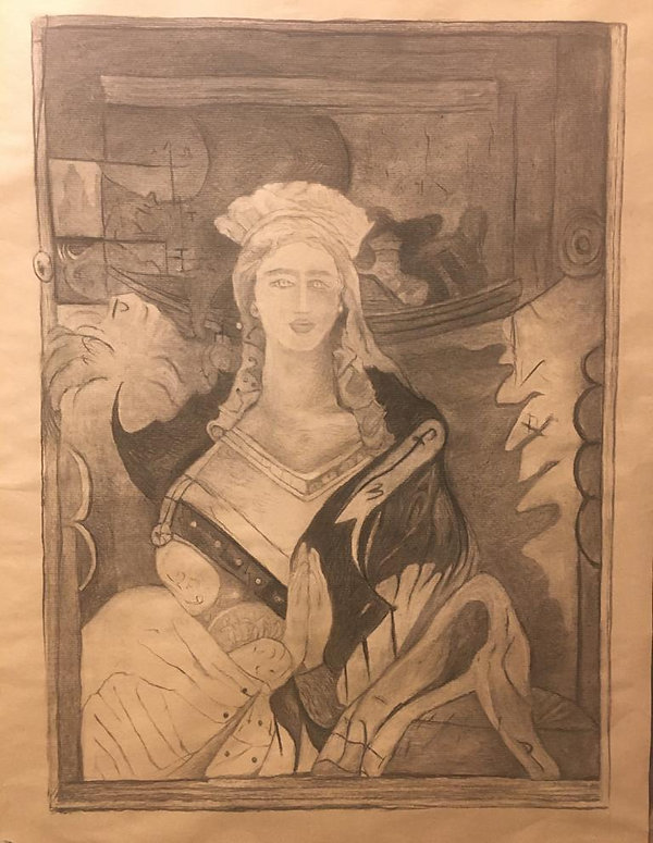 Retrato de la Princesa Peregrina Sigismu