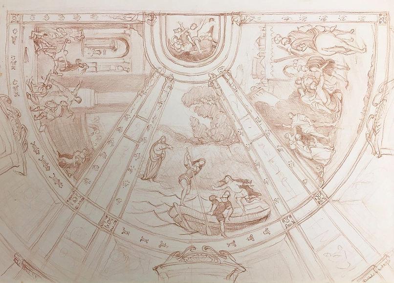 Sant Andrea narrative of Calling of Sant