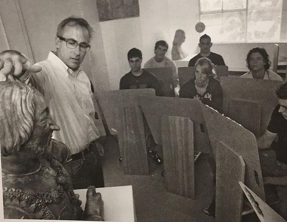 Professor Rocco Ceo teaching students ho
