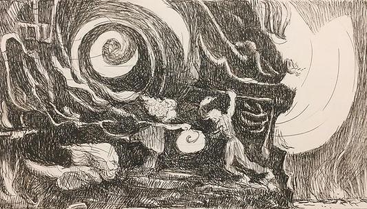 Aeolus gives Odysseus the Bag of Winds.j