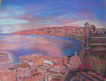 Bay of Napoli from Monte Equia