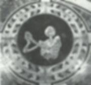 Cornaro Family Skeleton marble intarsio