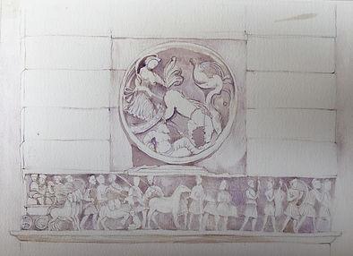 Arco Cons acuarela Venus vespertina clas