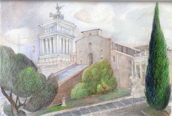 Santa Maria in Aracoeli pencil.jpg