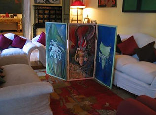 Allegories side of Triptych early versio