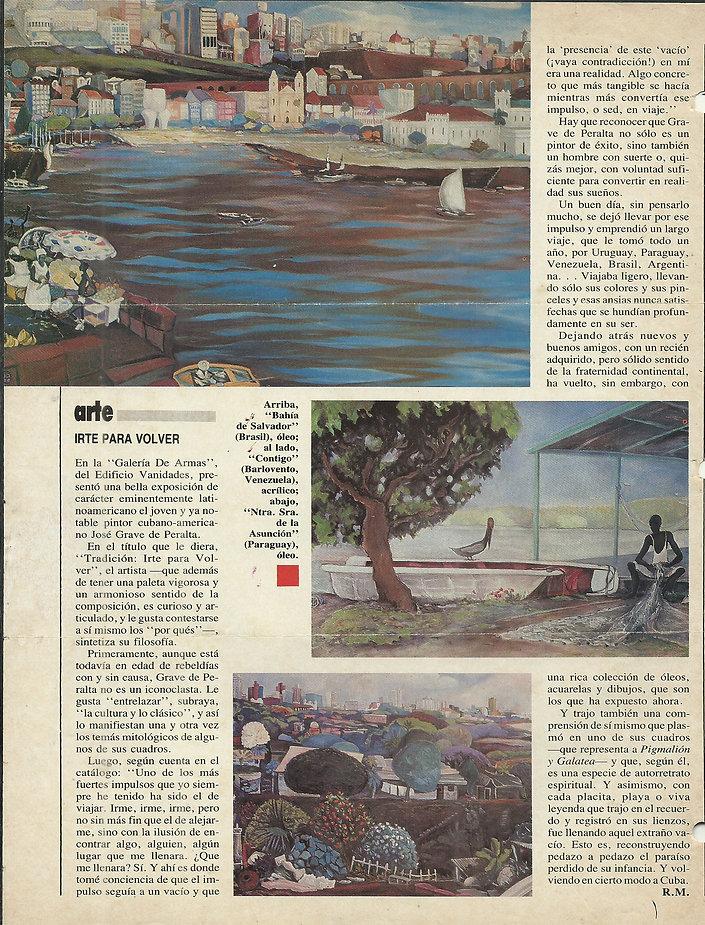 VANIDADES Show TRADICION 1987 Escrito RE