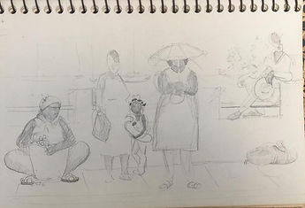 Martinique Waiting pencil sketch.jpeg