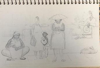 Martinique Waiting pencil sketch.jpeg