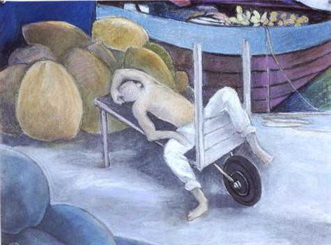 El niño paraguadormido (The Sleeping Paraguayan Boy