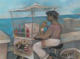 Mural Painting from Havana Seawall, Malecon