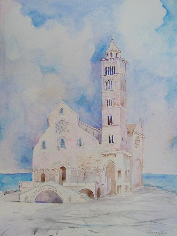 Catedral de Trani acuarela.jpg