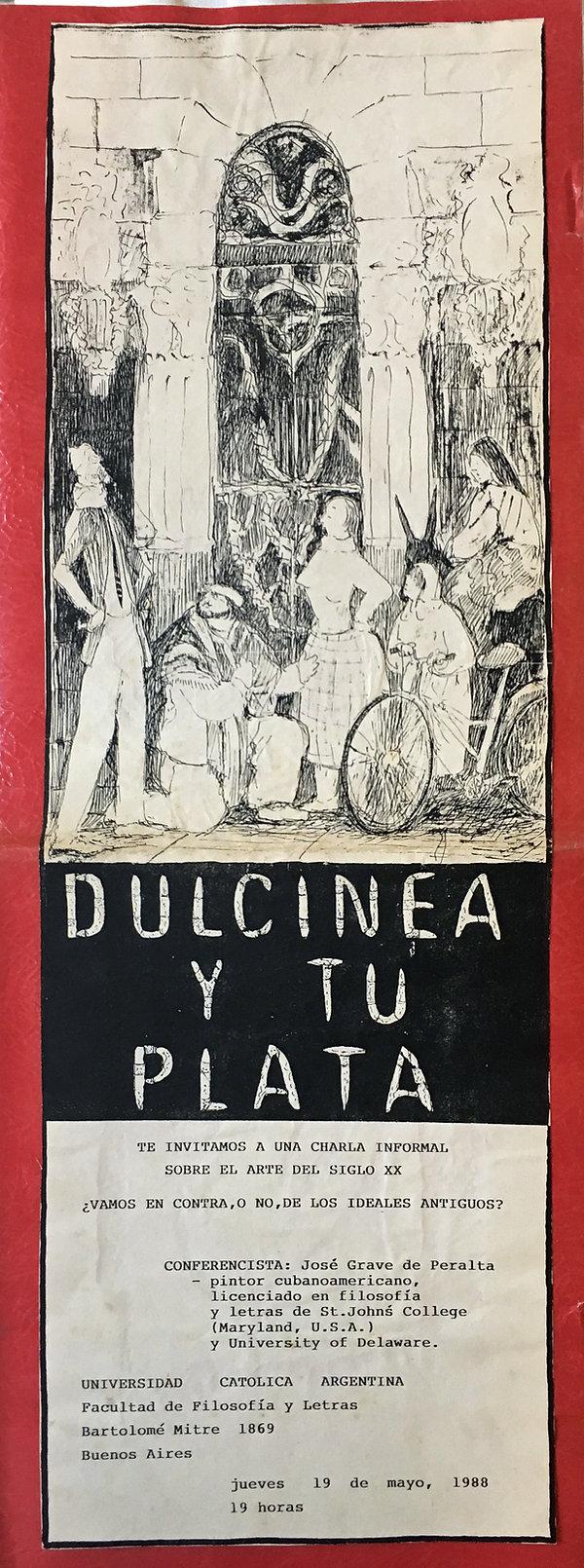 Dulcinea y Tu Plata Talk U Catolica Arge