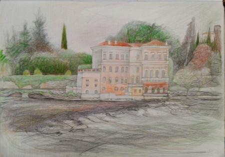 Villa along the Brento River in the Venetian city of Bassano del Grappa
