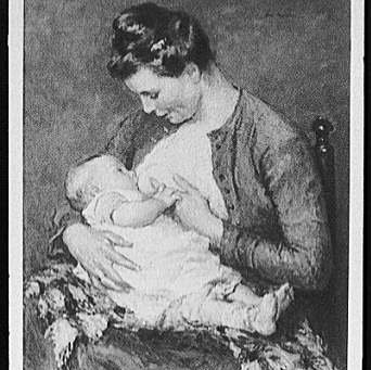 Your great-grandma didn't take a breastfeeding class.