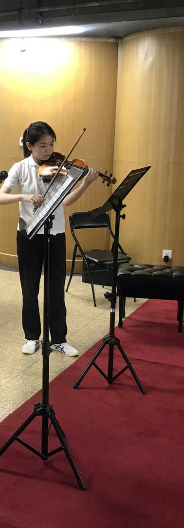 At the Central Music School in Beijing, China