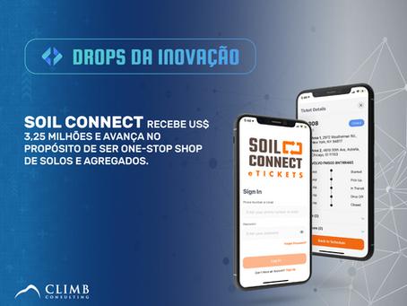 Soil Connect recebe US$ 3,25 MM e avança no propósito de ser One-Stop Shop de solos e agregados