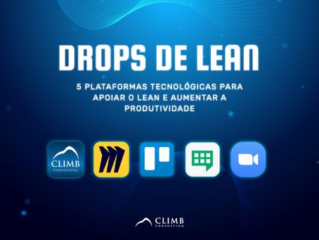 5 Plataformas tecnológicas para apoiar o Lean e aumentar a produtividade
