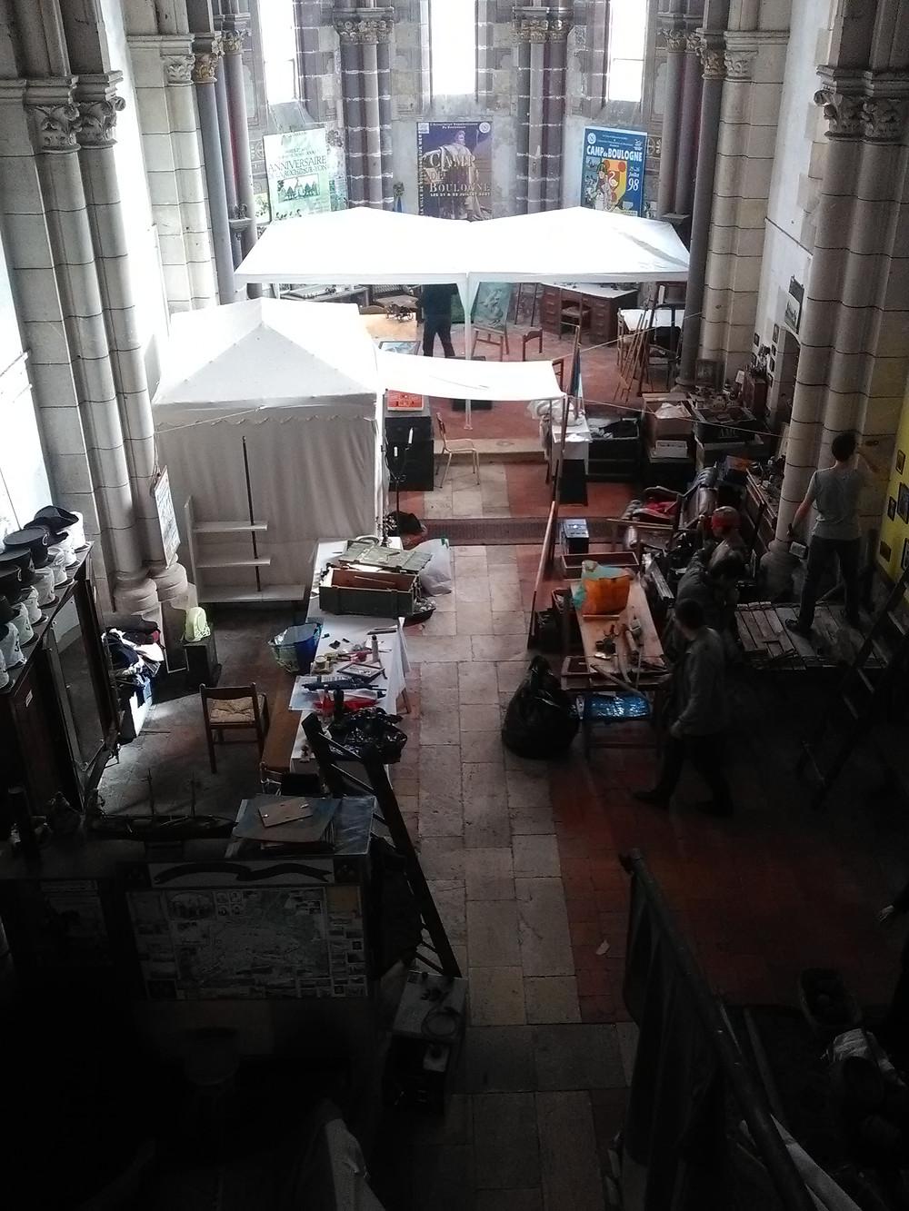 la chapelle quasiment réaménagé