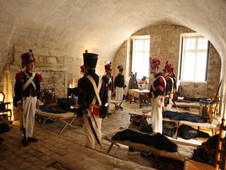 Inauguration de canons à la Porte Royale