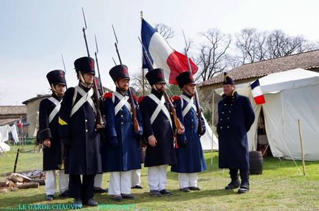 L'attaque des cosaques à Villenon