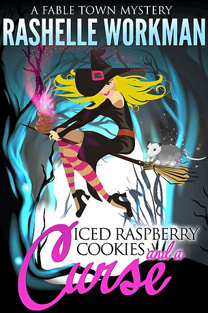 Iced-Raspberry-Cookies-and-a-Curse-Kindl