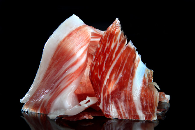 one of the finest cured hams in the world-- Pata Negra Bellotta
