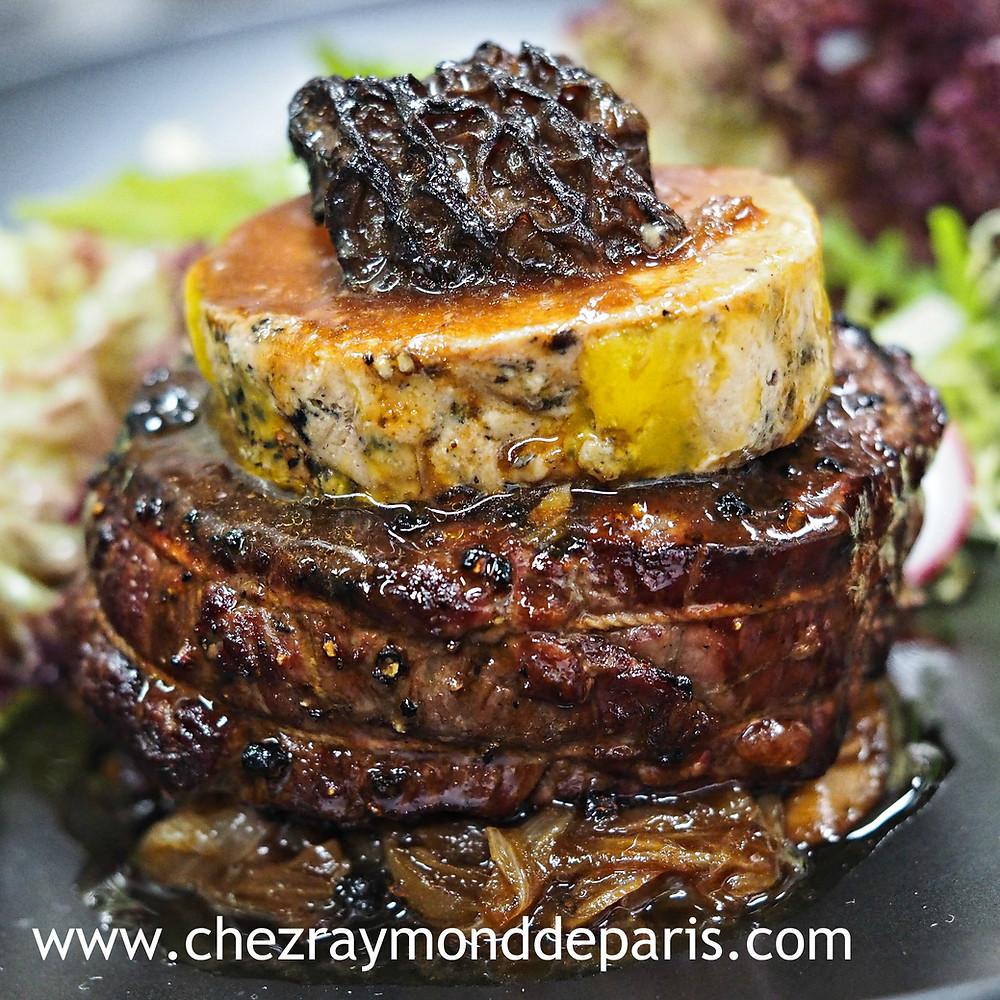 The Best Steak in Hong Kong - Tenderloin Rossini Tournedos Rossini