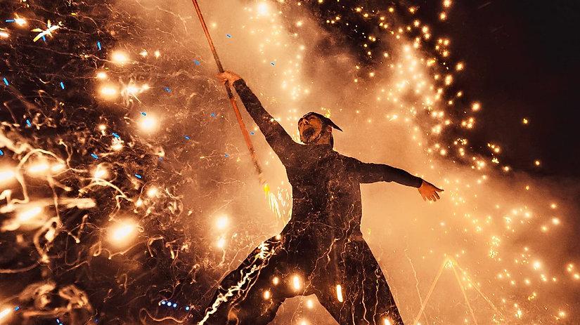 Pyro and Fire Show Dubai
