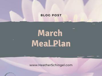 March Menu Theme & Template Download